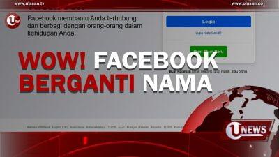 [Video] Wow! Facebook Berganti Nama